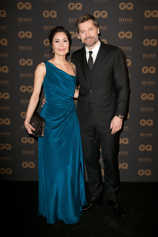 Nikolaj CosterWaldau (Jaime Lannister) and his wife Nukâka