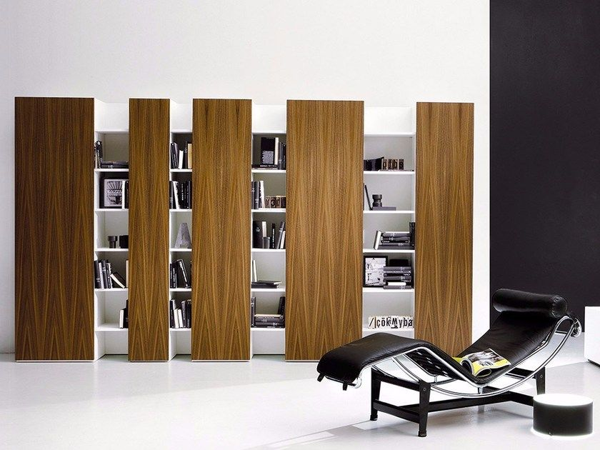 Photo of Sectional lacquered storage wall CODE By EmmeBi design Duccio Grassi