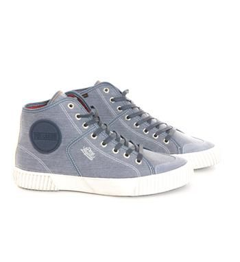 PME Legend halfhoge sneakers met vetersluiting - Blauw - NummerZestien.eu