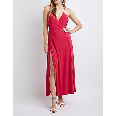 Dressy High Low Maxi Dresses