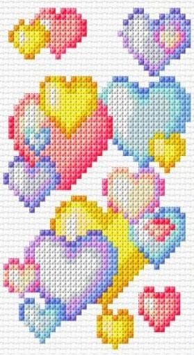 Photo of 18 ideas for embroidery patterns tree easy cross stitch