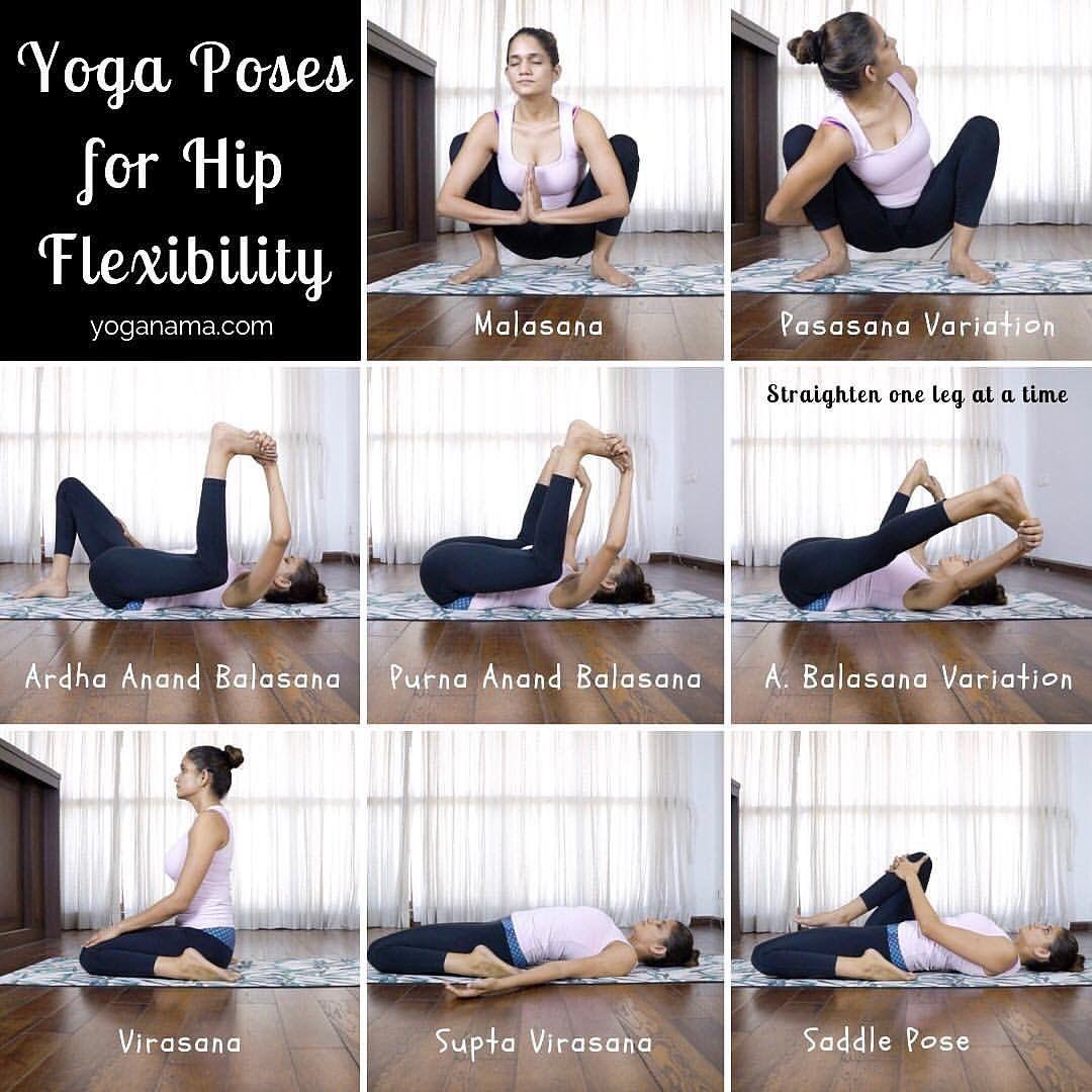 Yoga Hip Mobility Yoga For Flexibility Hot Yoga Poses Yoga Poses