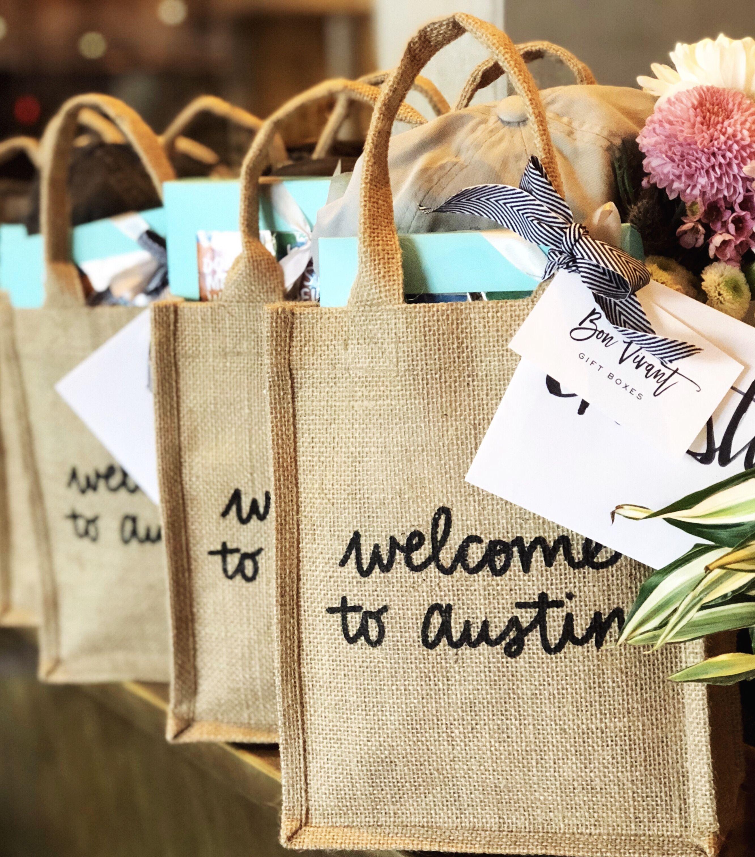 Austin gift bag, swag bag, to Austin, Austin