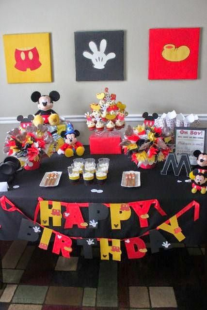 Ideas decoracion mickey mouse mickey mouse pinterest for Decoracion la casa de mickey mouse