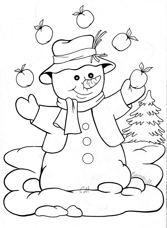 Pin de Helena Štefeková en omalovavanky   Pinterest   Navidad blanca ...