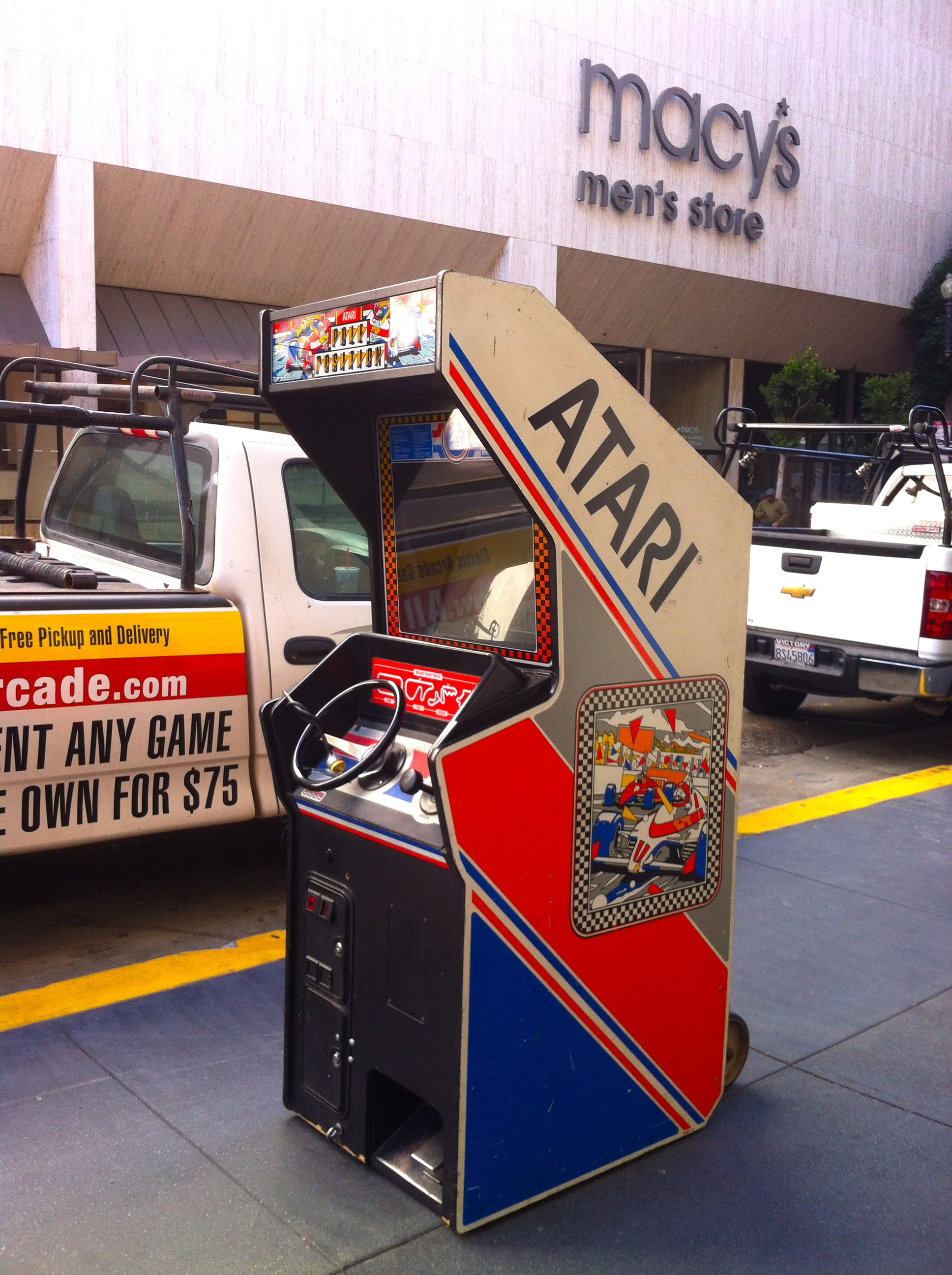 Atari meets Macy's sanfrancisco atari Men store
