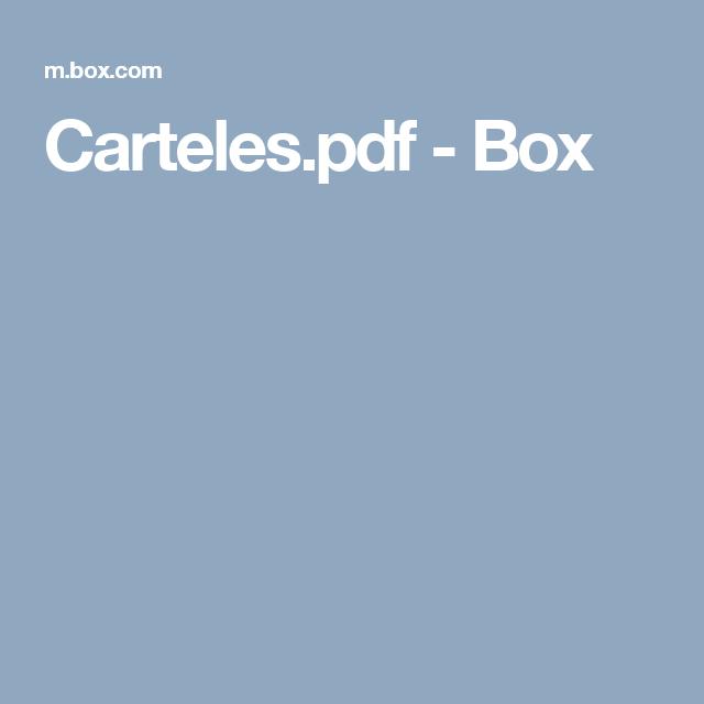 Carteles.pdf - Box