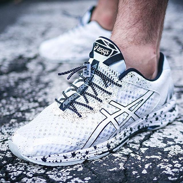 W H I T E N O I E - ASICS GEL-Noosa Tri 11 - Finally got some actual  sneakers for running in and they're actually pretty cool The elastic laces  were ...