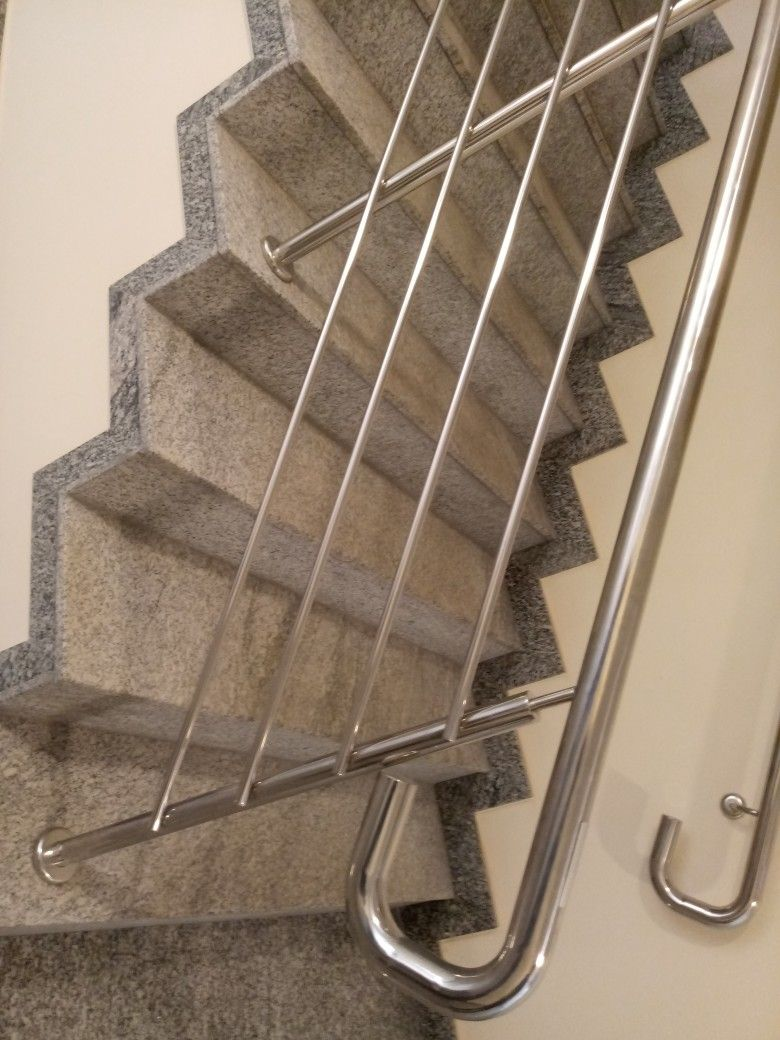 Best Pin By Ahmed Shah On Stainless Steel Work Modern Stair 400 x 300