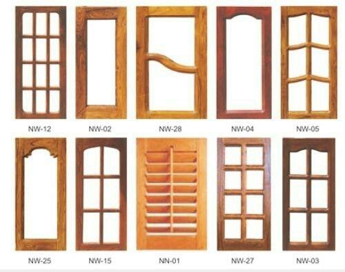 Pin On Wooden Window Design
