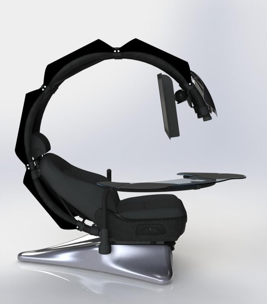 Stupendous Droian Ergonomic Computer Workstation In 2019 Computer Cjindustries Chair Design For Home Cjindustriesco