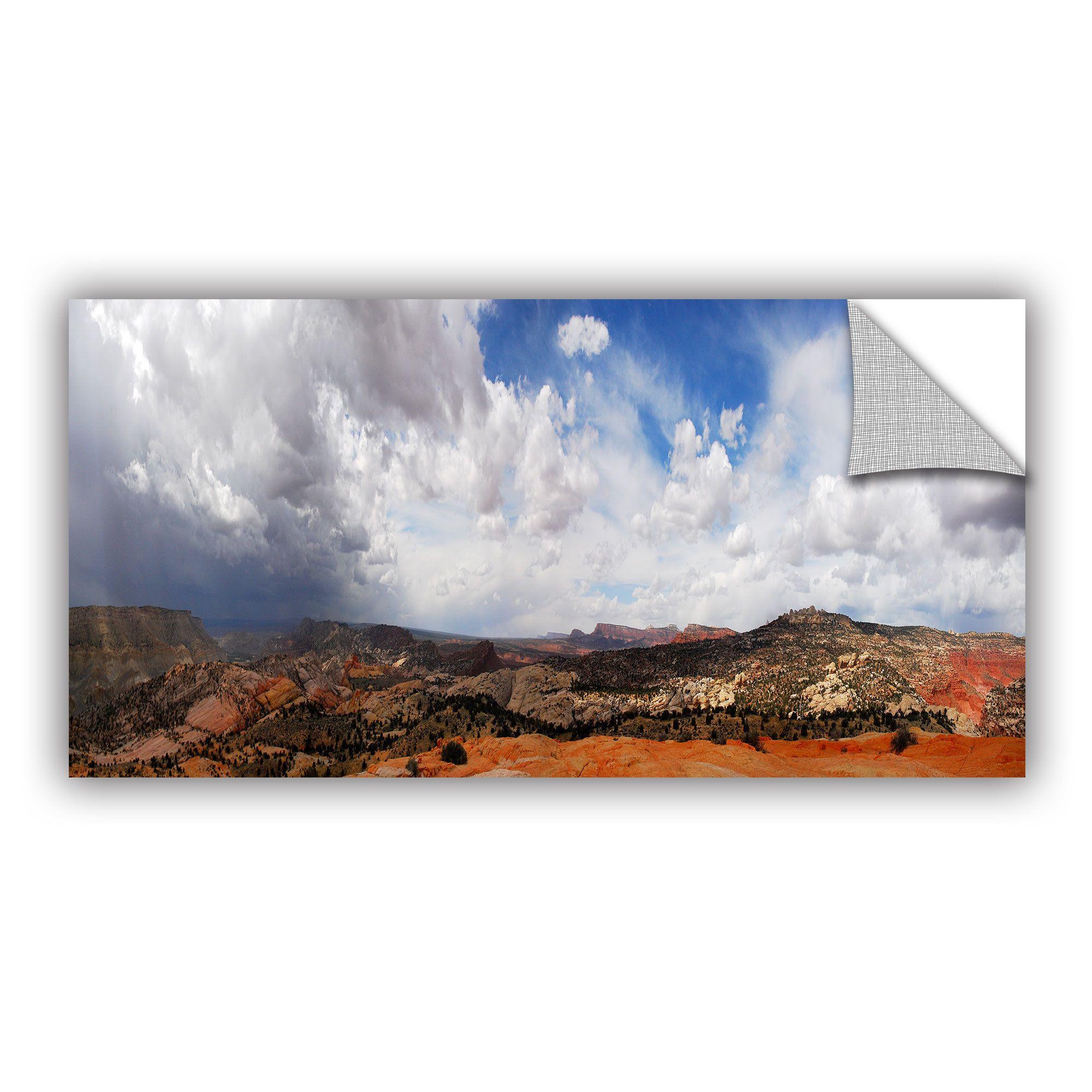 Artwall dan wilson u utah stormy panorama u art appealz removable