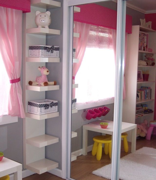 15 Corner Wall Shelf Ideas To Maximize Your Interiors Small Kids Room Storage Kids Room Girl Room