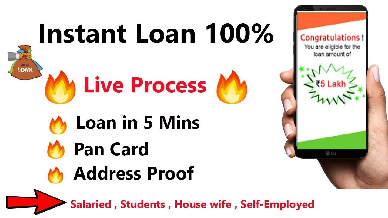 Get Instant Personal Loan Upto Rs50000 With Live Process No Salary Sli Personal Loans Instant Loans Loan