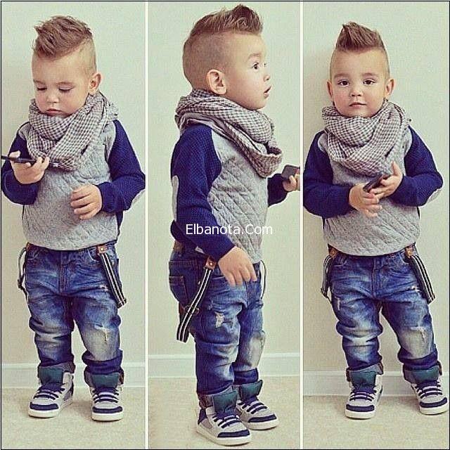 أحدث ملابس أطفال ولادي شتاء ٢٠١٦ من امريكا Baby Boy Hairstyles Little Boy Hairstyles Little Boy Haircuts