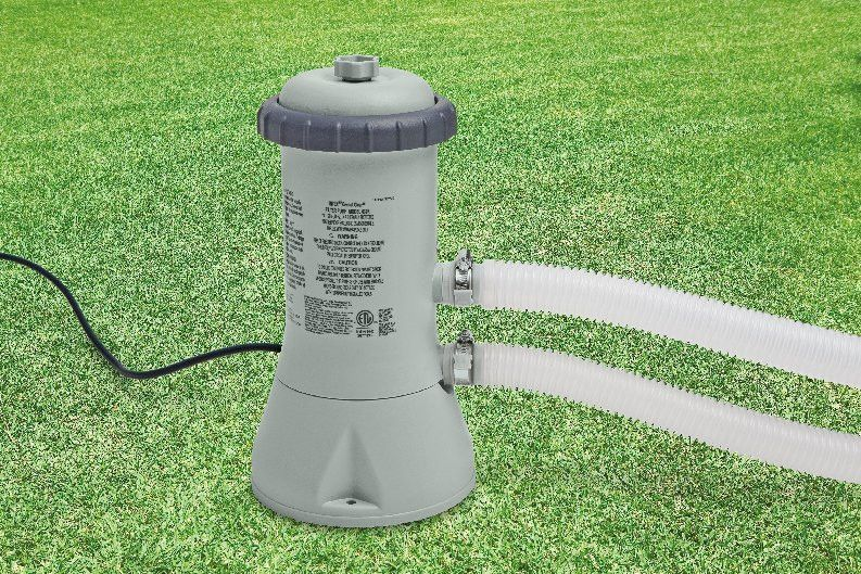 Intex 1000GPH Cartridge Filter Pump Products Pool