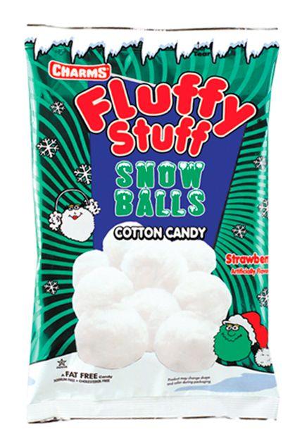 FLUFFY STUFF SNOW BALLS COTTON CANDY