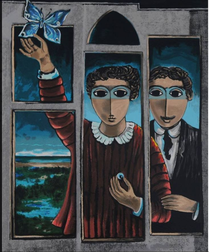 An obituary  for the Israeli artist ,  Yosl Bergner , who passed away  today