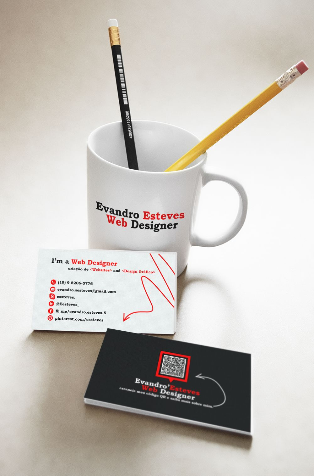 Cartão próprio /My Card business #desing