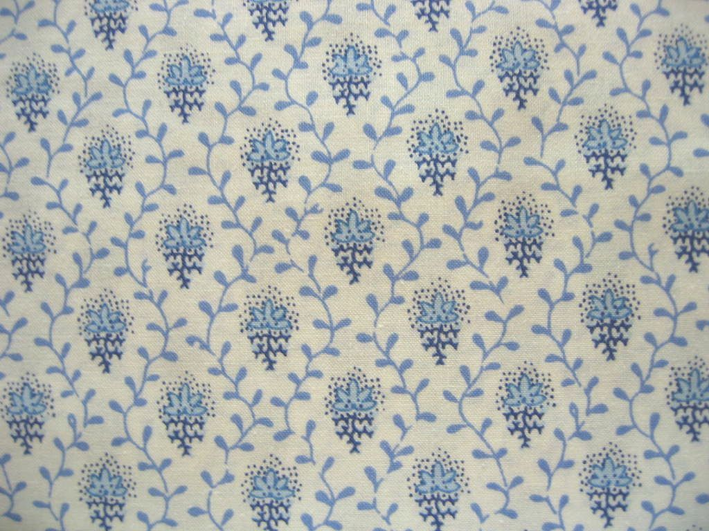 Japanese Cotton Print Fabric - French SOULEIADO - Petit Fleur des ...