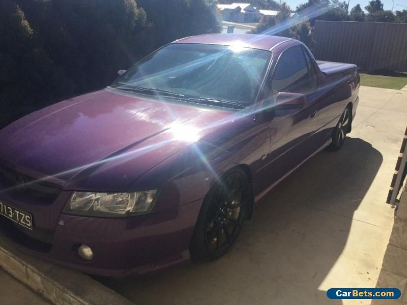 Car For Sale 2007 Holden Vz Svz Commodore Ute Heaps Of Work Done