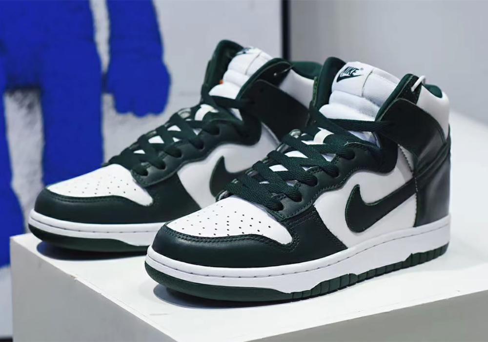Nike Dunk High Pro Green Cz8149 100 Release Info Sneakernews Com Nike Dunk High Nike Dunks Nike