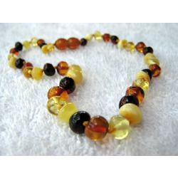 """LOVE our amber!  Amber is a natural analgesic, or pain reliever and anti-inflammatory. When amber is worn on the skin, the warmth of the skin releases trace amounts of healing oils on the skin. Commonly known as """"teething jewelry,"""" baltic amber has been a natural and traditional European remedy for teething discomfort for hundreds of years.  $27"""