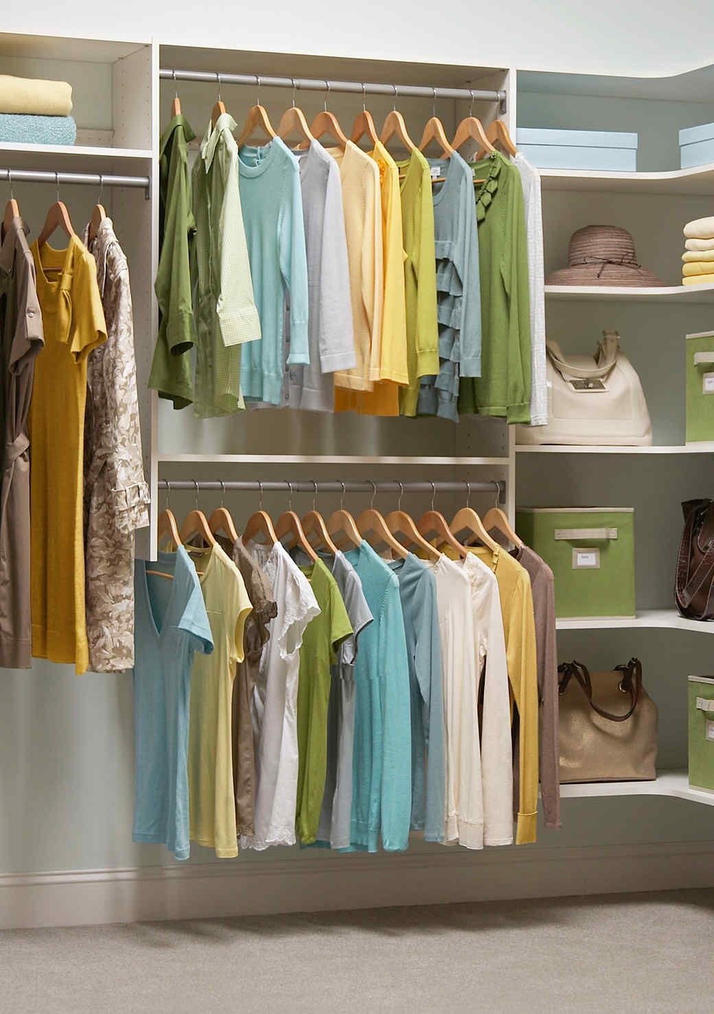 5 Closet Organization Tips Thatu0027ll Make Getting Dressed More Fun