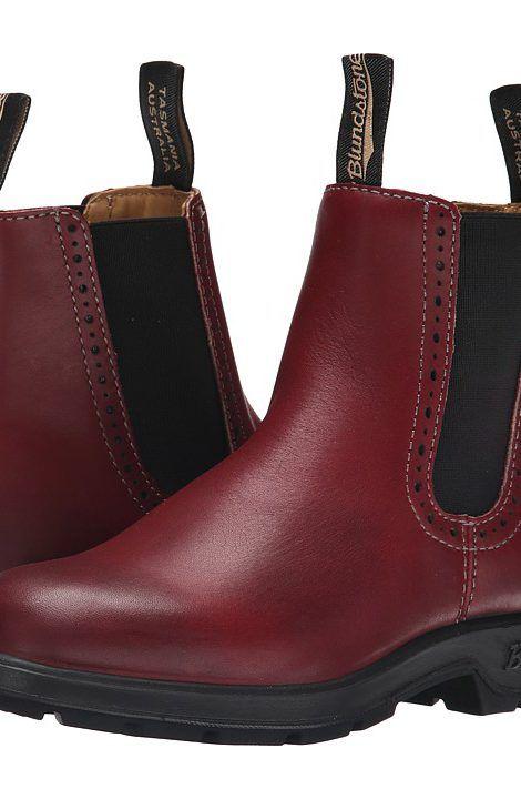 Blundstone BL1443 (Burgundy) Women's Work Boots - Blundstone, BL1443, BL1443-602.  Low Heel BootsLow HeelsShoe ...