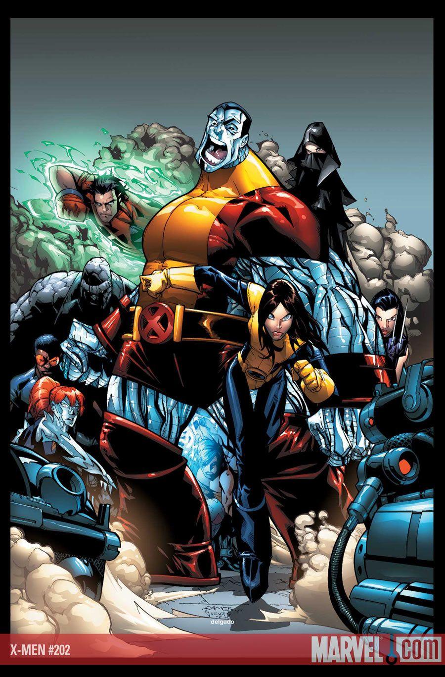 X-MEN  Looks like dust, hellion, collosus, x23, and shadowcat are