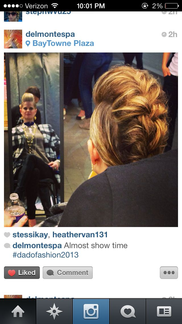 Hair By Heather Vandenbosch At The Spa At The Delmonte Dado