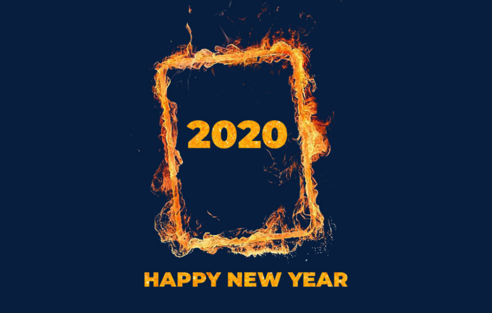 If You Are Searching For The Best Elegant And Eye Catching Happy New Year Wallpapers 2020 C Happy New Year Pictures Happy New Year Images Happy New Year Photo