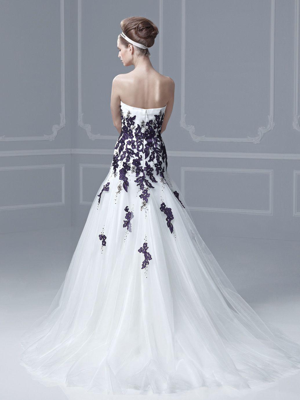 Blue farley front wedding dresses blue byenzoani pinterest