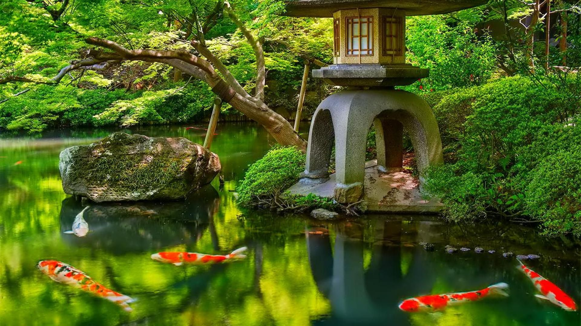 Japanese garden wallpaper buscar con google dise o for Jardin 5 thoiry