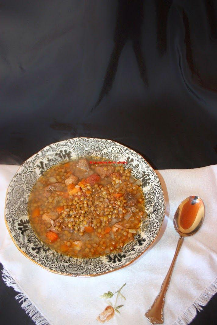 La cocina de mi abuelo receta lentejas recipes recetas pinterest recetas food and recipes - La cocina de mi abuelo ...