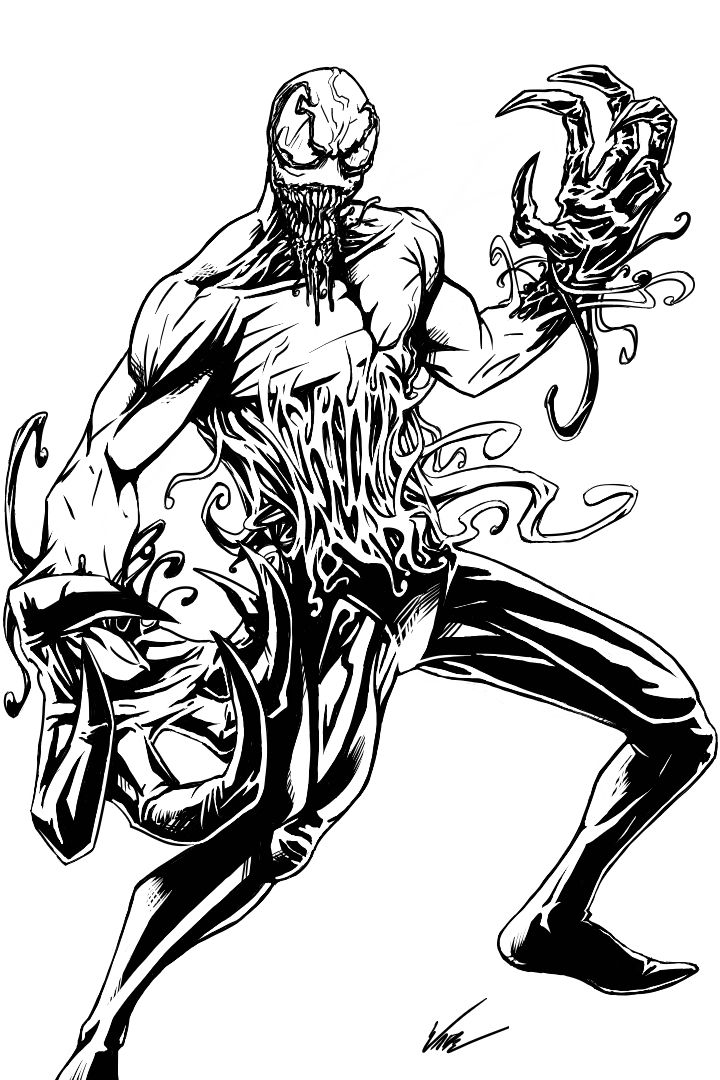 Venom Coloring Pages Lego Venom Spider Marvel Heroes: Patrick Mulligan By BaneNascent