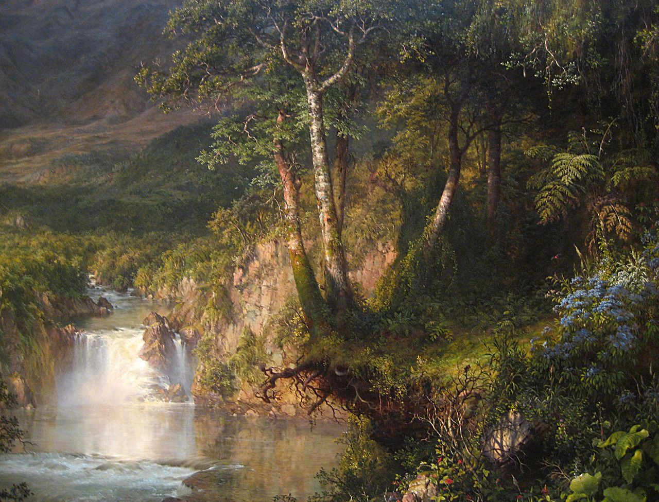 Heart Of The Andes Frederic Edwin Church 1859 Most Importantly