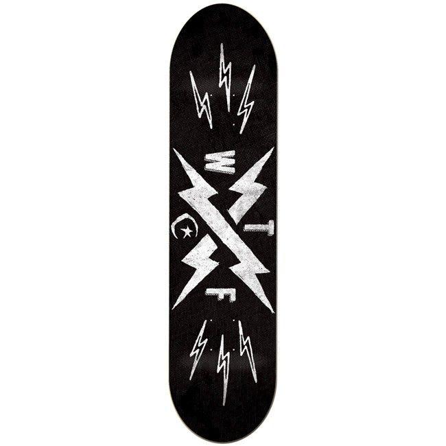 Foundation Bolts 7 75 Logo Deck Skateboard Decks Deck Toy Machine