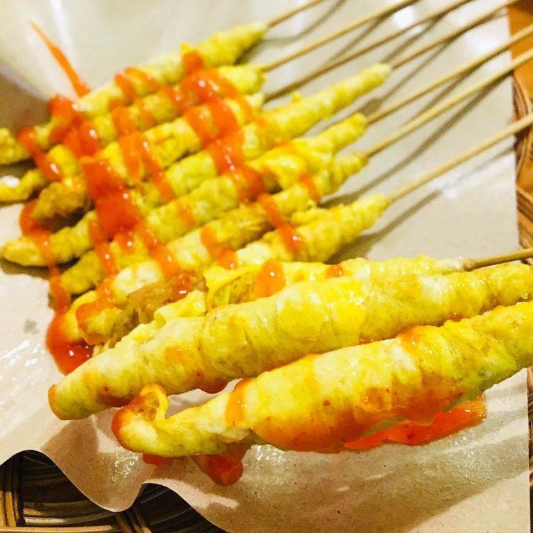 Resep Sate Telur Gulung Crispy Ekonomis Isi Sosis 1 Resep Jadi 24pcs Telur Gulung Makanan Dan Minuman Humor Makanan