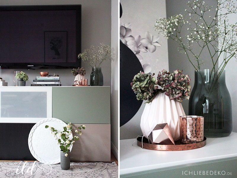 Wandgestaltung mit Alpina - Flur  Wohnzimmer im neuen Look