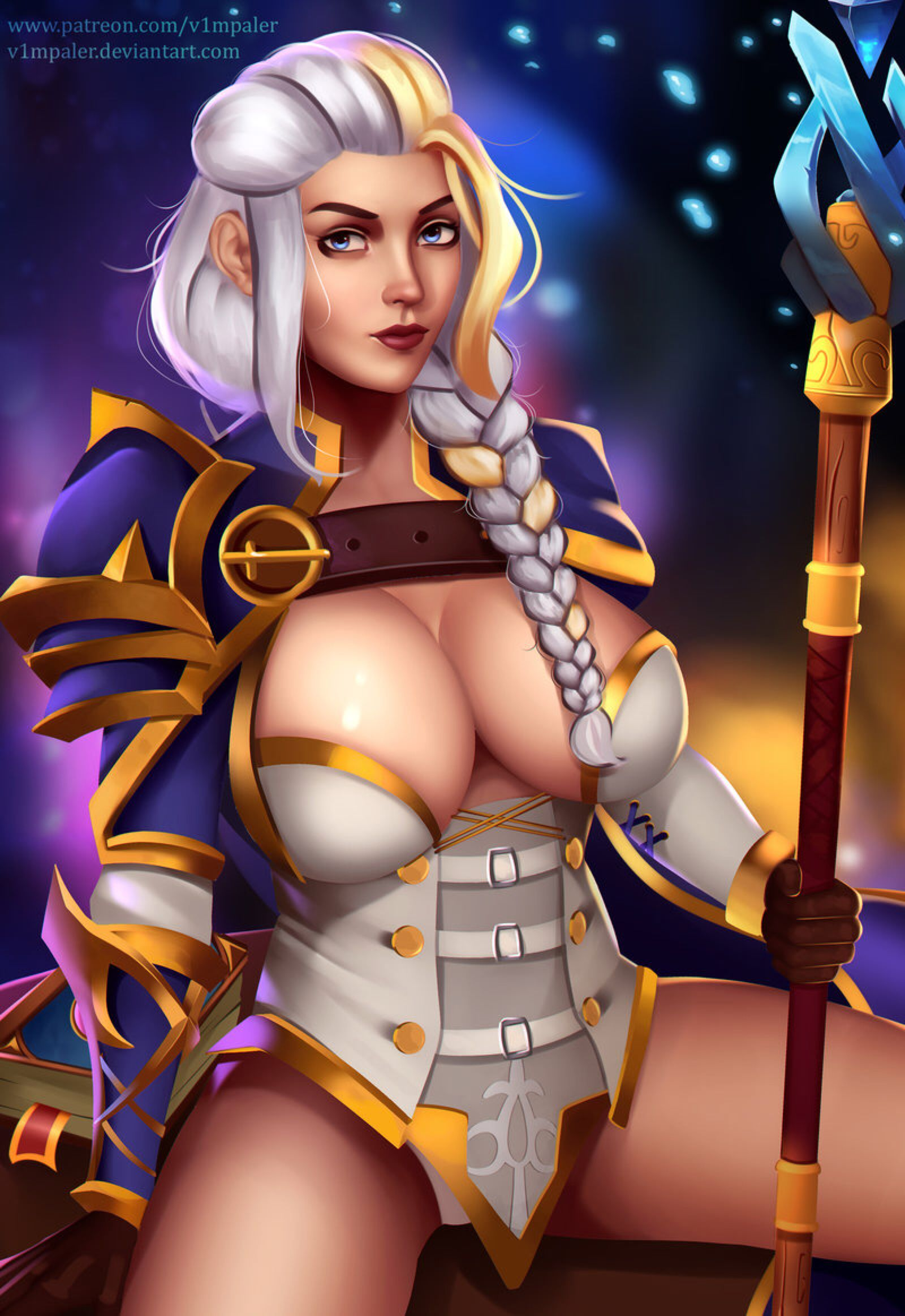 Warcraft fan art nude