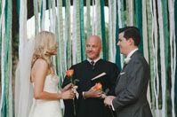 A Romantic Texas Wedding: Jessa + Brian #streamerbackdrop