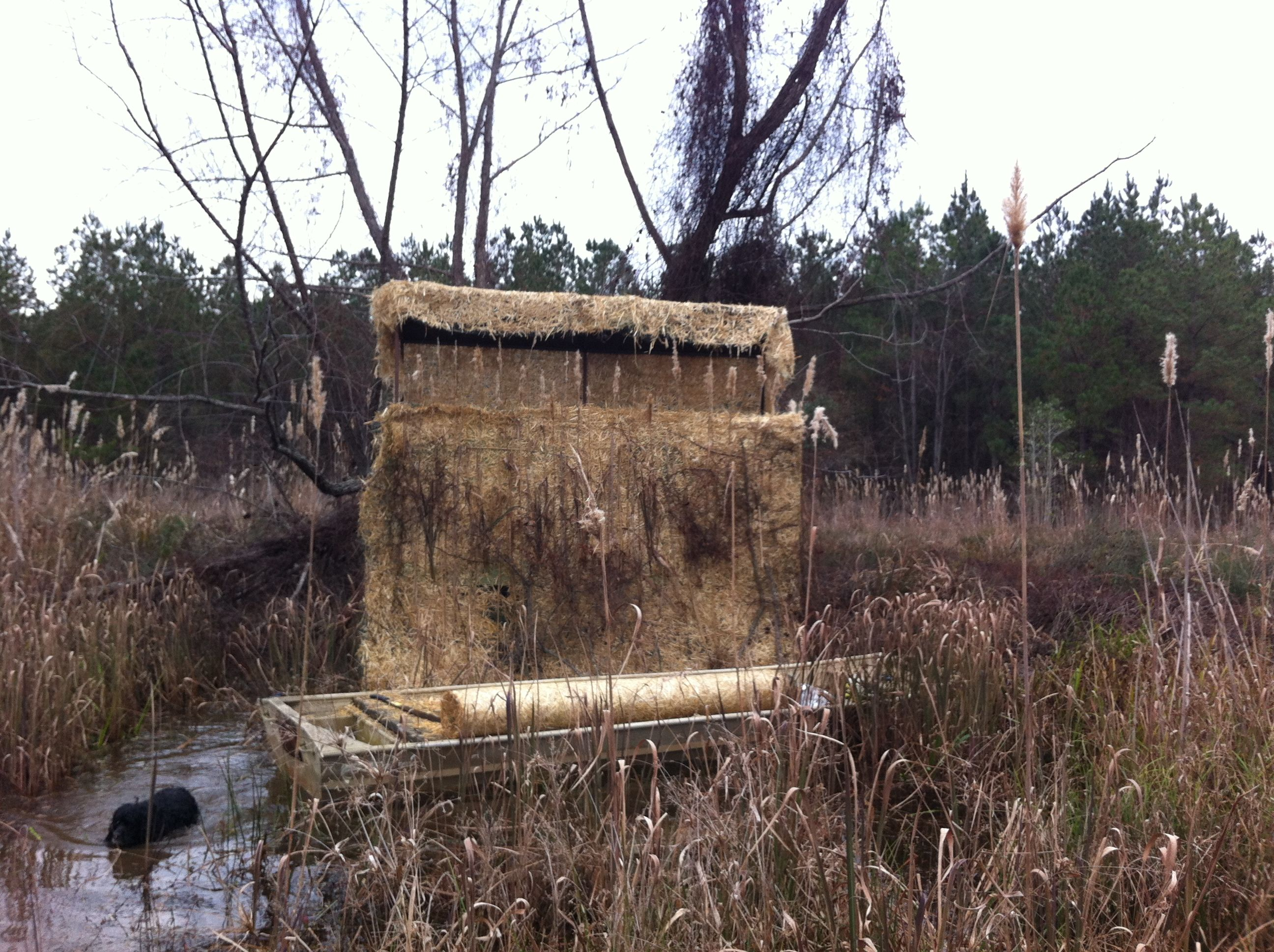 duck camouflage youtube watch blinds pontoon hunting blind boat goose