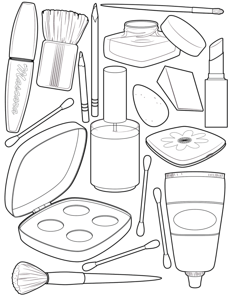 Make Up Coloring Pages Printable Shelter Cute Coloring Pages Coloring Pages Free Coloring Pages