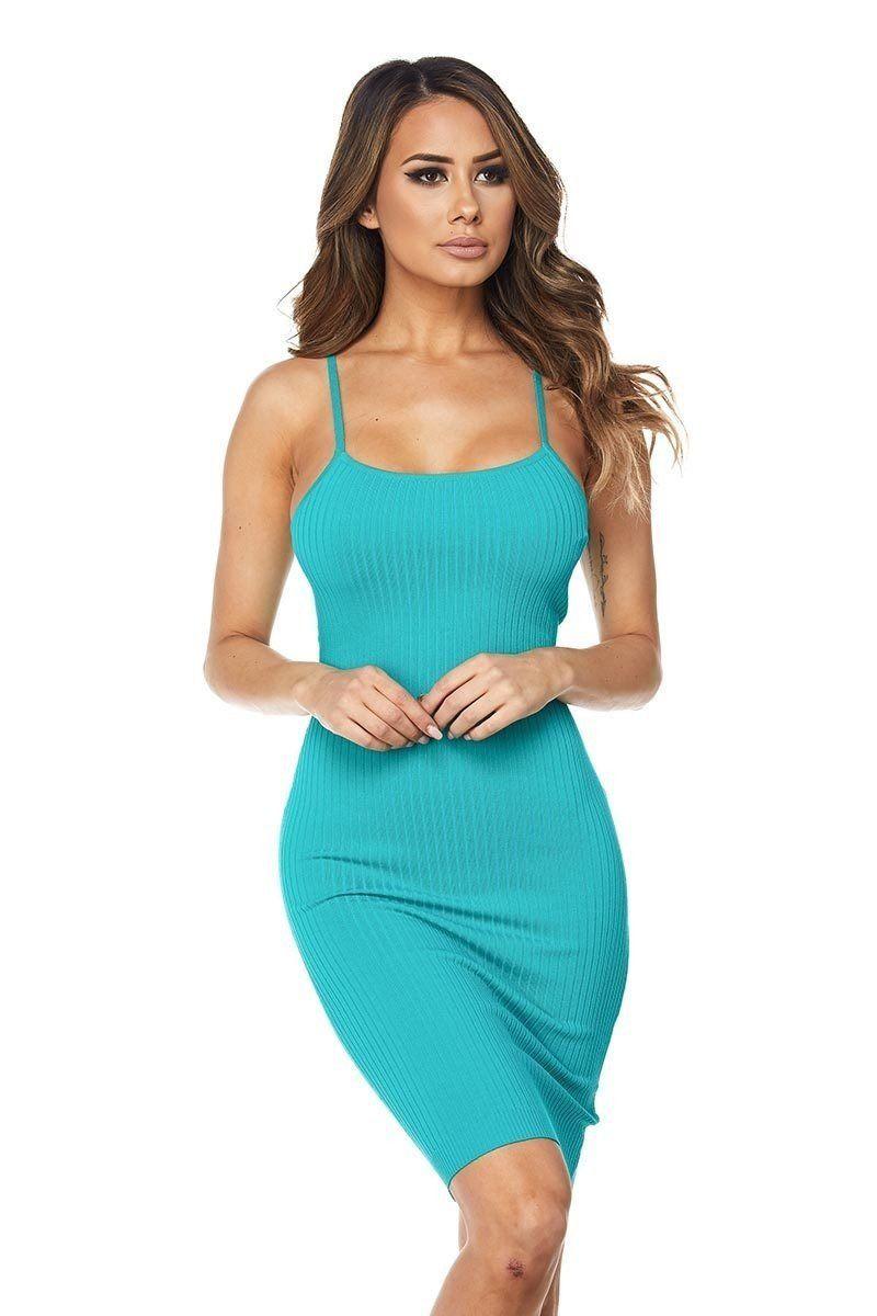 Missguided Premium Bandage Back Strap Bodycon Dress Blue Bodycon Dress Dresses Bodycon [ 1680 x 1160 Pixel ]