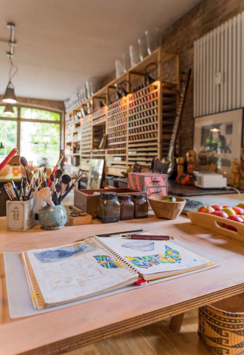 Studio Gosha of Fine Art, Potsdam, Germany, photo by ©Torsten Fritsche