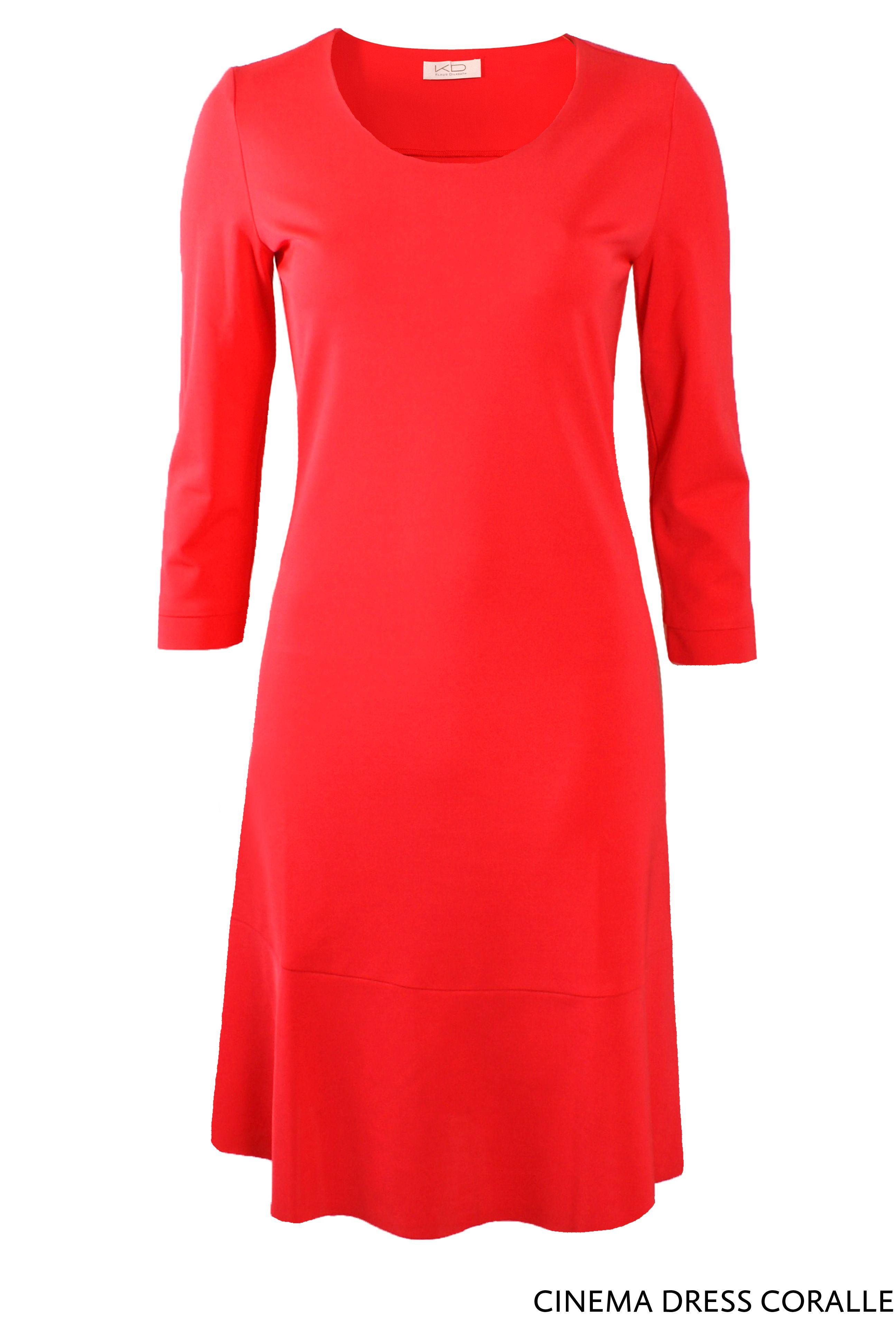 Cinema Dress Coralle von KD Klaus Dilkrath #cinema #dress #kdklausdilkrath #kd #kd12 #coralle #summer #spring #coral #kdklausdilkrath #kd #dilkrath #kd12 #outfit