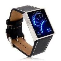 Blue Backlit LED Watch