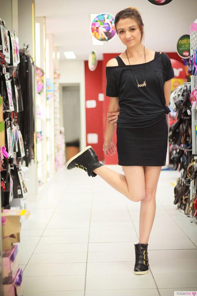 Sneaker preto! Black sneaker