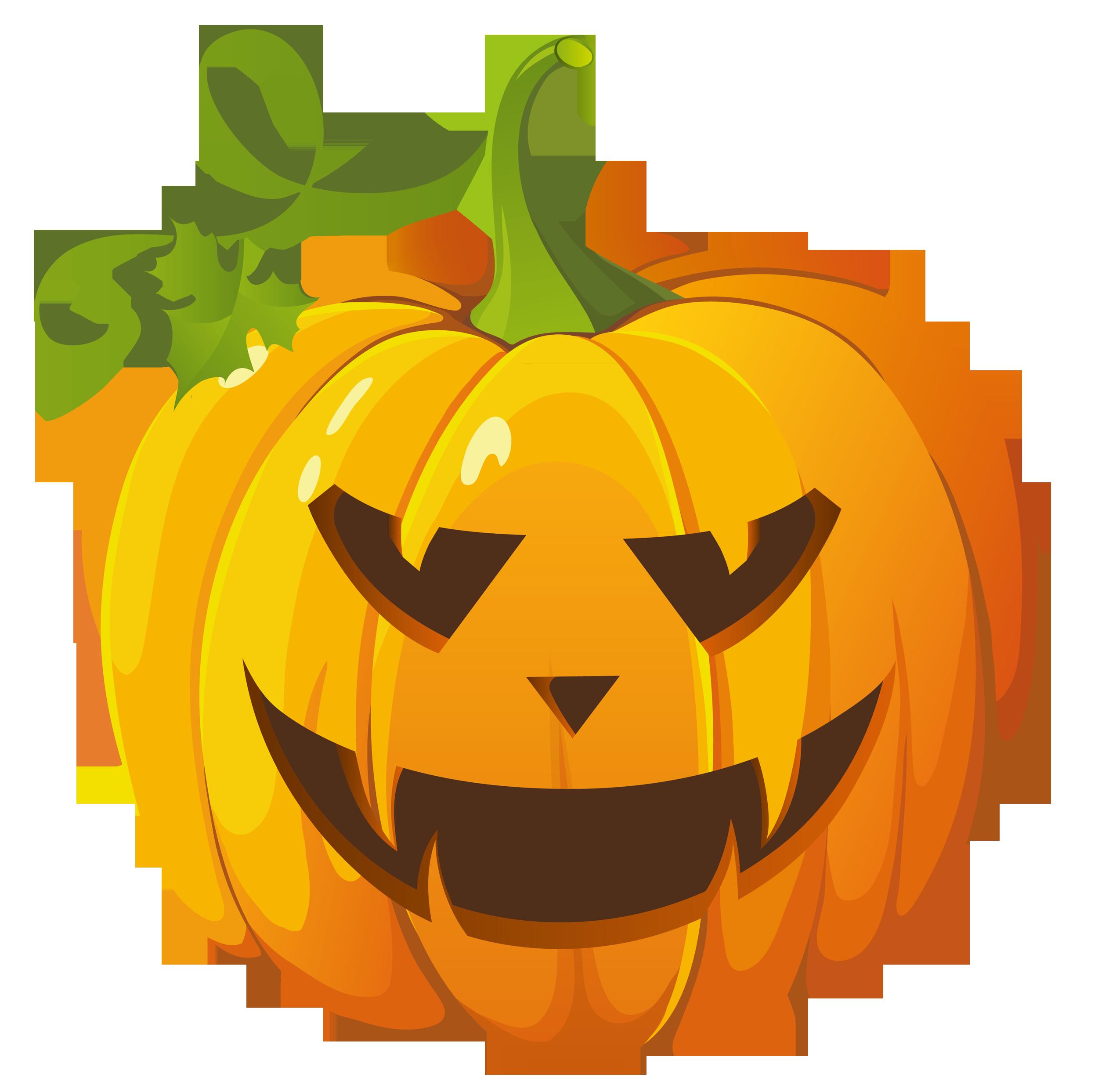 Cute Halloween Pumpkin Clipart Clipart Panda Free